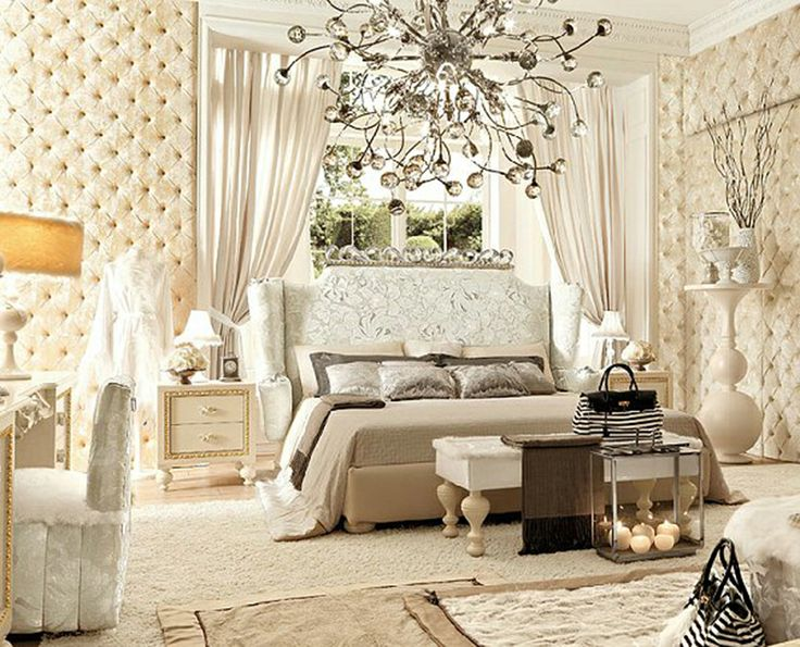 Luxury bedroom decorating ideas vintage style master for Antique style bedroom ideas