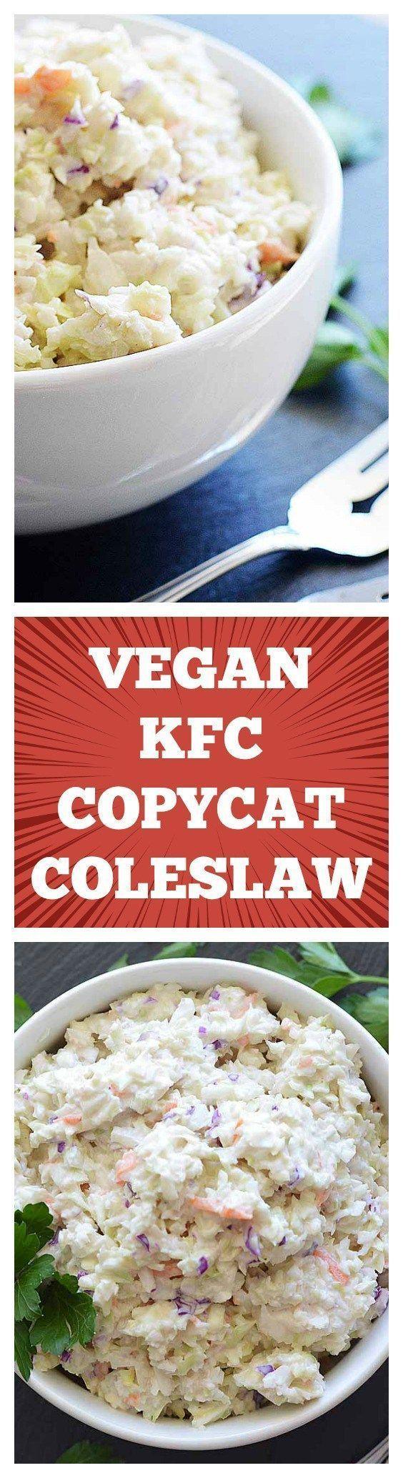 VEGAN KFC COPYCAT COLESLAW