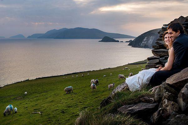 A coastal #wedding in Ireland