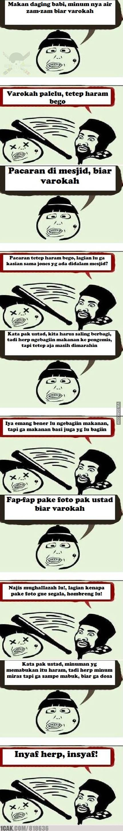 Ustad Cage Dan Herp Meme Indonesia Lucu V V Pinterest