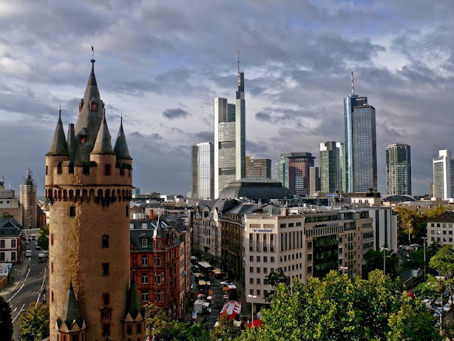 A voyage to Frankfurt am Main, Germany, Europe