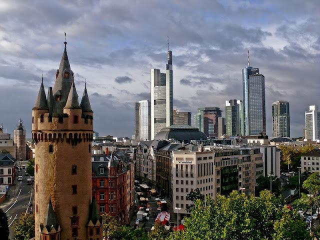 A voyage to Frankfurt am Main, Germany, Europe