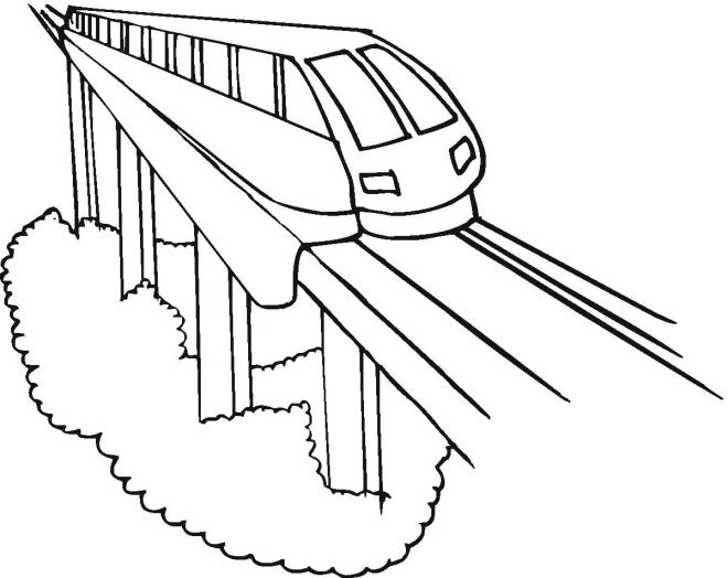 coloring pages trains preschoolers development - photo#26