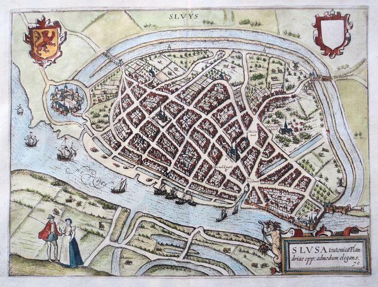 Sluis 1625; goed te bereiken vanuit vakantiepark Landal Nieuwvliet-Bad