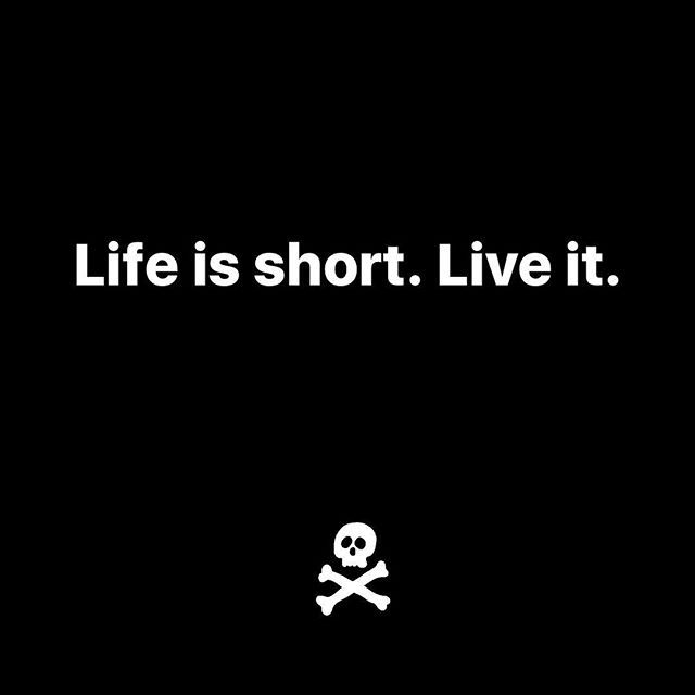 Life's too short not to have fun and do things that others might think are crazy. Live. #MondayMotivation - ☠️ . . . #motivation #motivational #motivationalquotes #quotes #quote #success #successful #advice #happiness #health #entrepreneur #atl #atlanta #boston #nyc #miami #dallas #sandiego #sanfrancisco #london #seattle #la #inspiration #inspirational #inspirationalquotes #monday #entrepreneurship #instalike #sandiego #sandiegoconnection #sdlocals #sandiegolocals - posted by Adam ☠️…