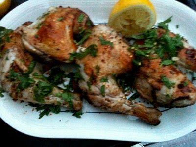 Grillet kylling - Mat på bordet