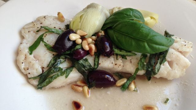 Mediterranean Halibut | Recipes | Pinterest | Fish, Olives and Comment