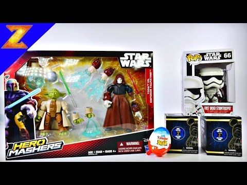 Star Wars Hero Mashers Toys Christmas Gifts For Boys 2015 Xmas Videos Kinder Joy Surprise Egg - http://insurancequindio.info/star-wars-hero-mashers-toys-christmas-gifts-for-boys-2015-xmas-videos-kinder-joy-surprise-egg/