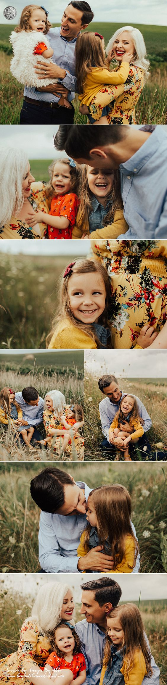 Need family picture ideas? View this family of 4 boho session to get fall family picture ideas. BOHO FAMILY STYLE. FAMILY OF 4 POSES.