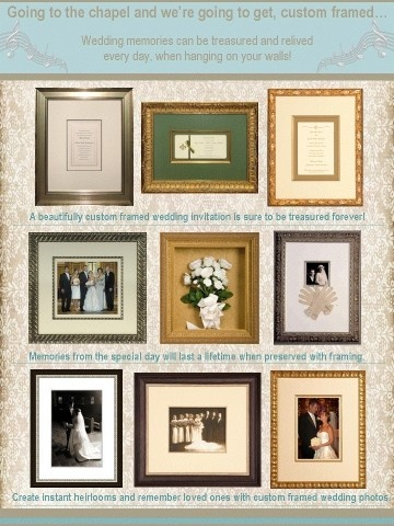 31 best custom framed wedding images on pinterest wedding ideas going to the chapel and were going to get custom framed solutioingenieria Gallery