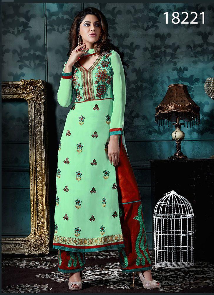 Salwar New Bollywood Indian Pakistani Anarkali Dress Kameez Suit Designer Ethnic #KriyaCreation #Designer