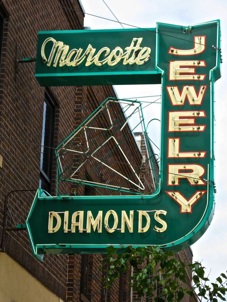 Marcotte Jewelry in Marshall MN Nice neon - I wish the diamond would light up