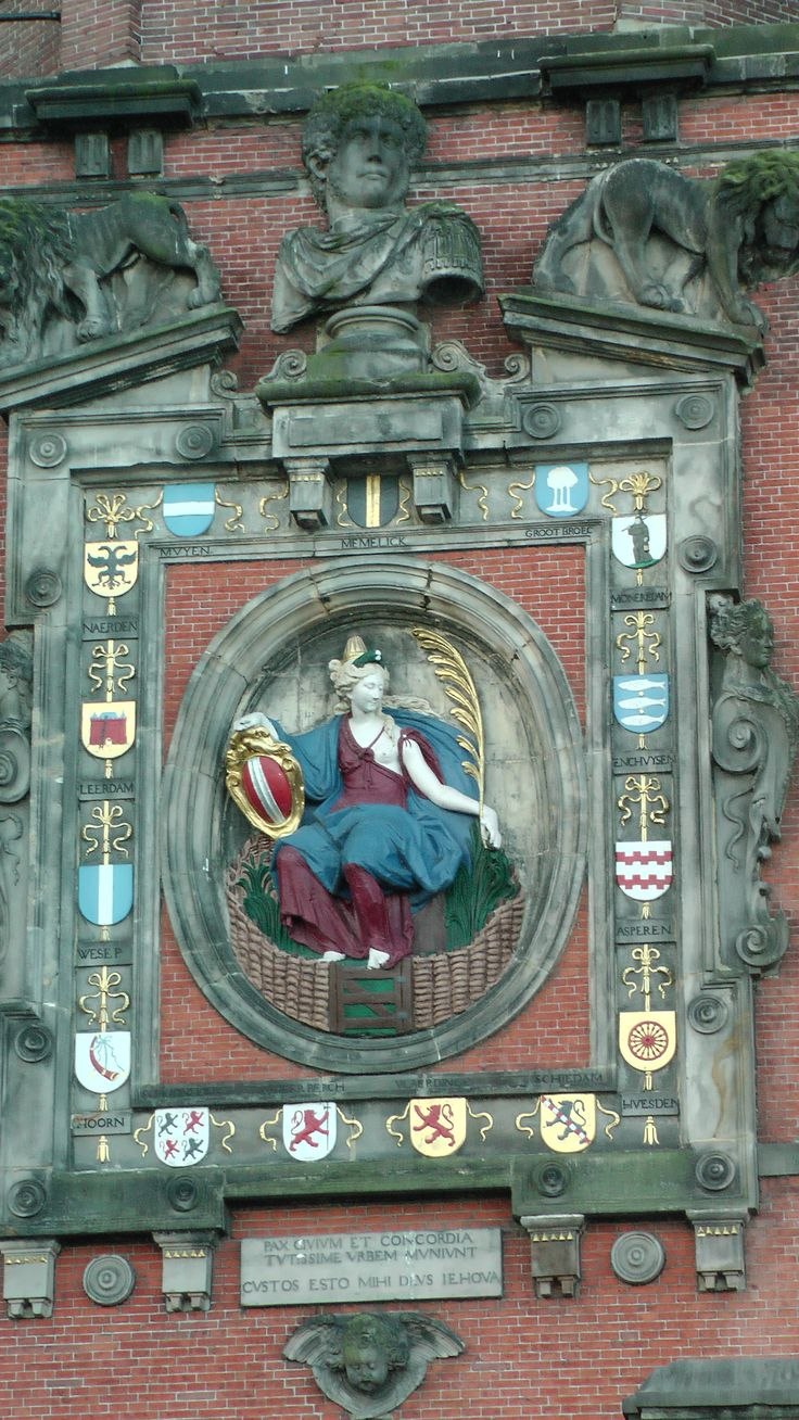 Ornament toegangspoort Dordrecht