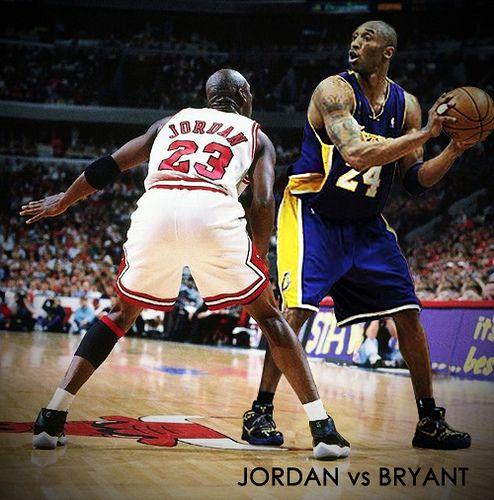 Kobe Bryant & Michael Jordan – Immense Expectations (in HD)