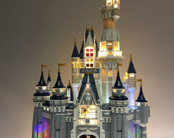LED Lighting kit for LEGO®️️ Disney Castle 71040 #ad