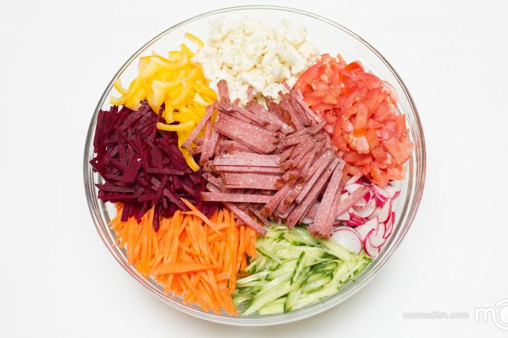 I tried this salad the first time at a family Thanksgiving party. My sister-in-law makes the best salads. She always brings a new salad to our family events, I love it. One thing that stood out to me about this salad, is that all vegetables were raw, so they still maintained all the vitamins.