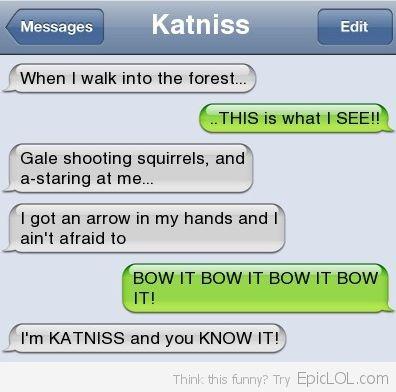 Love Katniss! :)