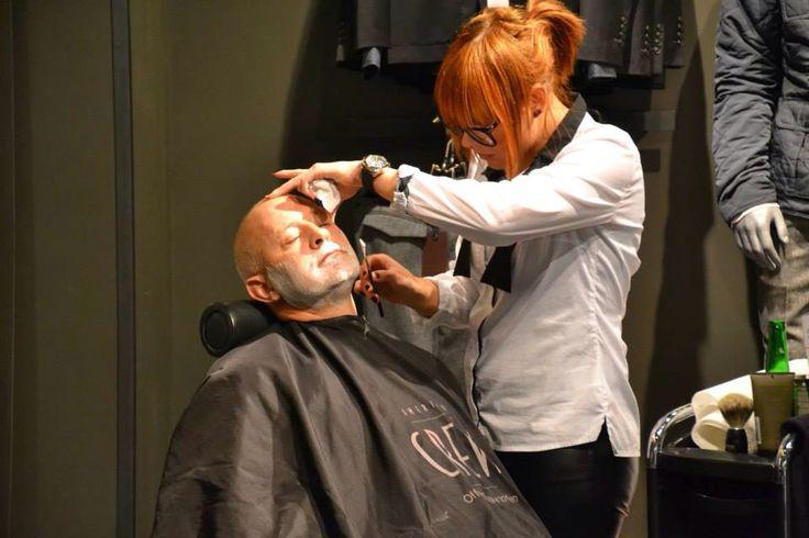 Old Shave.  Gentlmen only ..