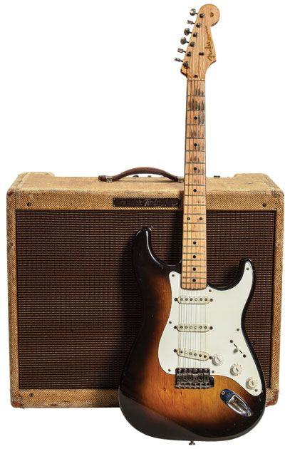 Vintage Vault: 1956 Fender Stratocaster (Serial #14220) and 1957 Fender Twin   Premier Guitar