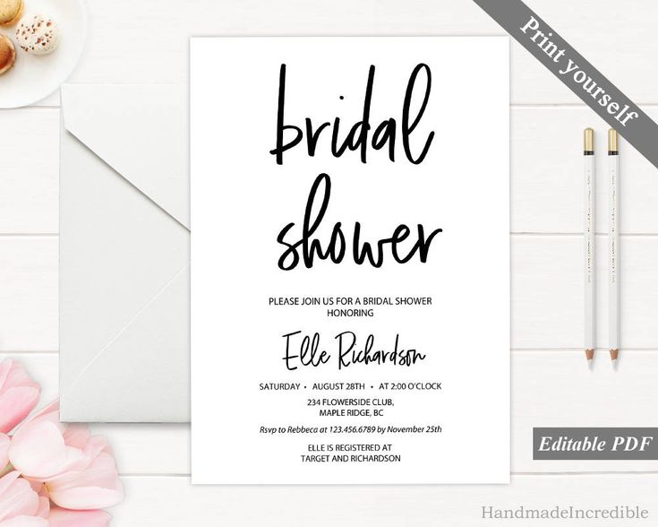 Best 25+ Rustic bridal shower invitations ideas on Pinterest - Bridal Shower Invitations Template