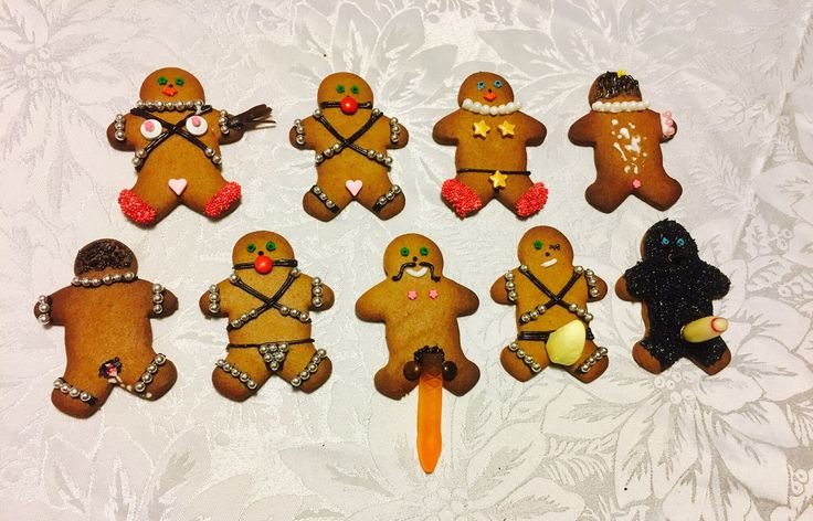 Naughty gingerbread