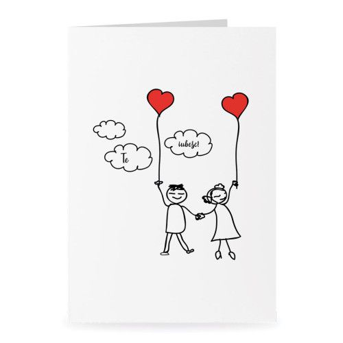 Felicitările de dragoste concepute de Daisler Print House transmit partenerului sau partenerei o grămadă de lucruri dulci într-un mod unic.