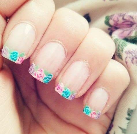 Rosas #nailart #nail