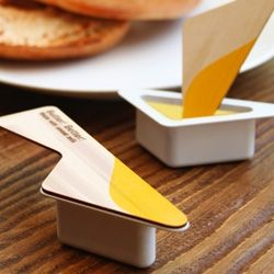 Butter Better Package Design Integrated Spoon...awesome idea!!