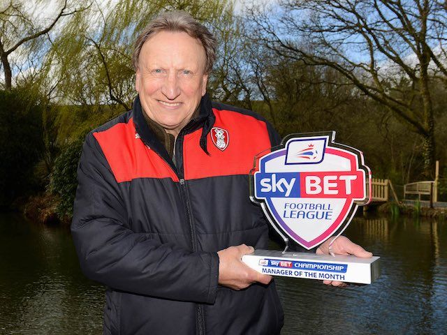 Neil Warnock, Sam Vokes pick up March awards in Championship  #RePin by AT Social Media Marketing - Pinterest Marketing Specialists ATSocialMedia.co.uk