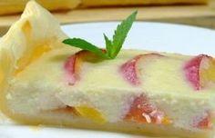 Prăjitură rapidă cu piersici și iaurt. Această aromă te ademenește... - Bucatarul