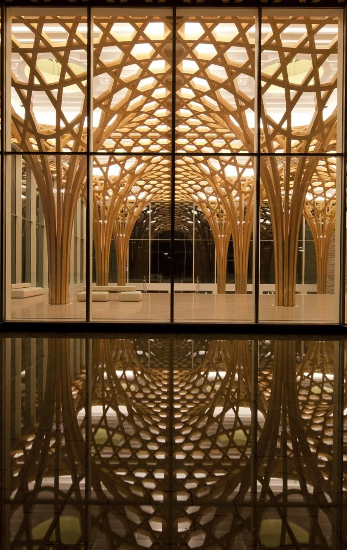 SHIGERU BAN. 2014 Pritzker Architecture Prize. Haesley Nine Bridges Golf Club House, 2010, Korea. Photo by Hiroyuki Hirai.