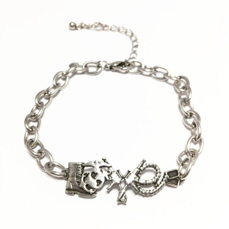 US Marine Corps Love Bracelet - US Military Jewelry