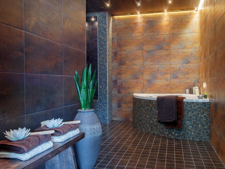 Luksusta kylpemiseen  @ Loma-asuntomessut Lappeenrannassa 2012