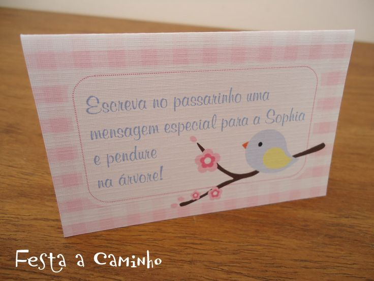 Festa a Caminho: Kit festa Sophia - Passarinhos