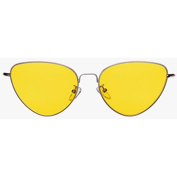 a0fdfe6e92 Cat Eye Metal Frame Sunglasses ( 45) ❤ liked on Polyvore featuring  accessories
