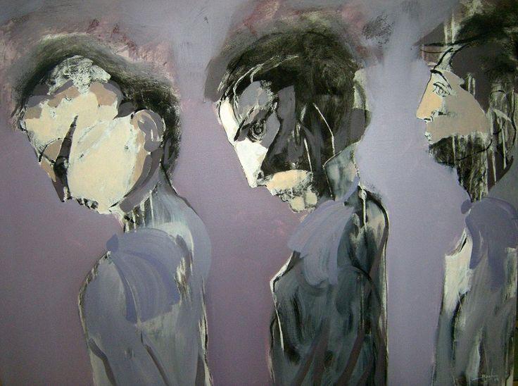 A mal tiempo buena cara 100 cm x 80 cm Óleo-Lienzo 2012 3.000€ #arte #art #artecubano #cubanart #galerías #galleries #pintura #painting #EdelBordon
