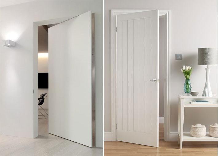 23 mejores im genes sobre puertas en pinterest puertas - Puertas blancas exterior ...