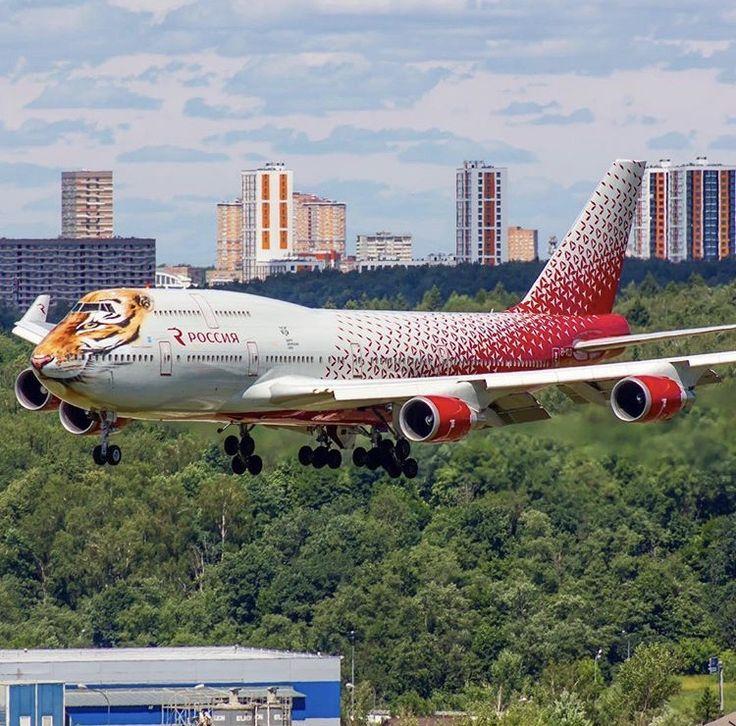 авиакомпания россия двухэтажный самолет фото менее