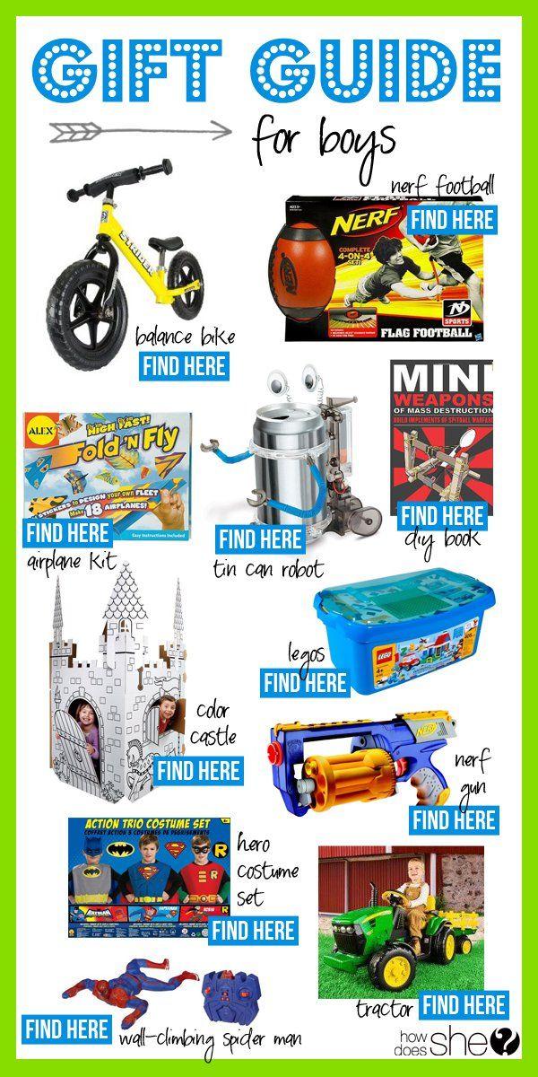 gift guide for little boys