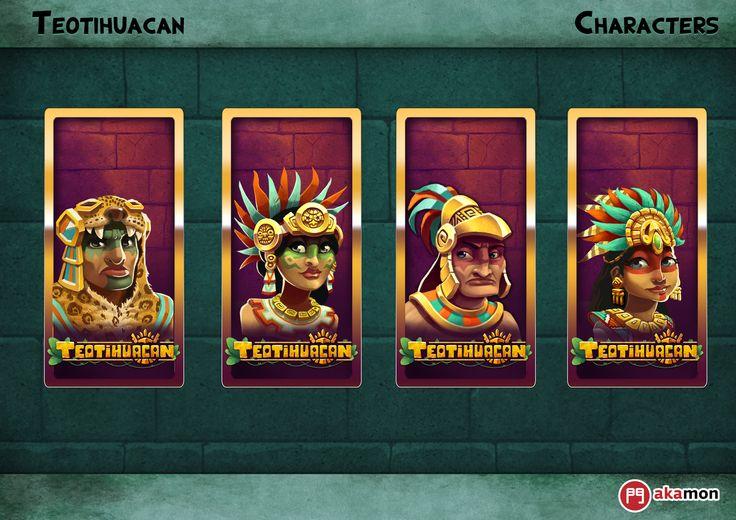 ArtStation - Teotihuacan Slot Videogame , Yizard !