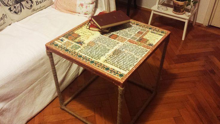 DIY Vintage Coffe Table