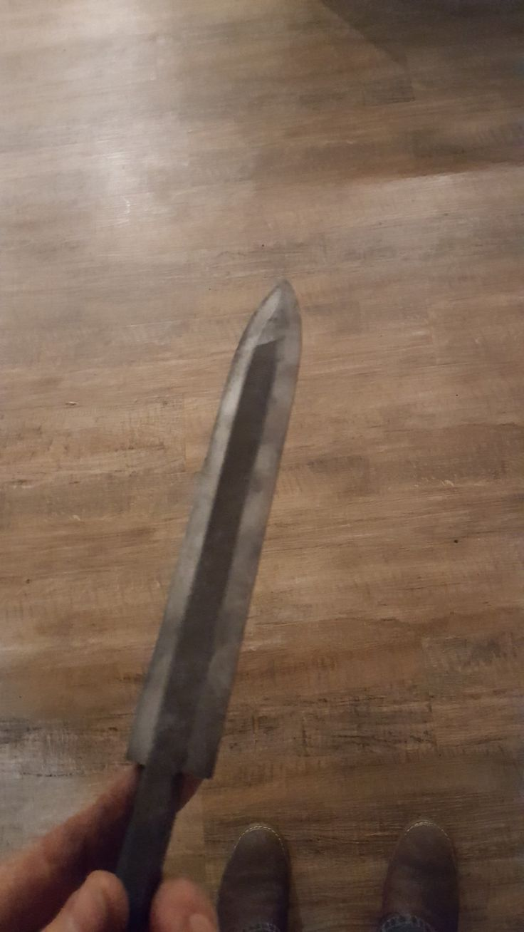 File knife dagger blade