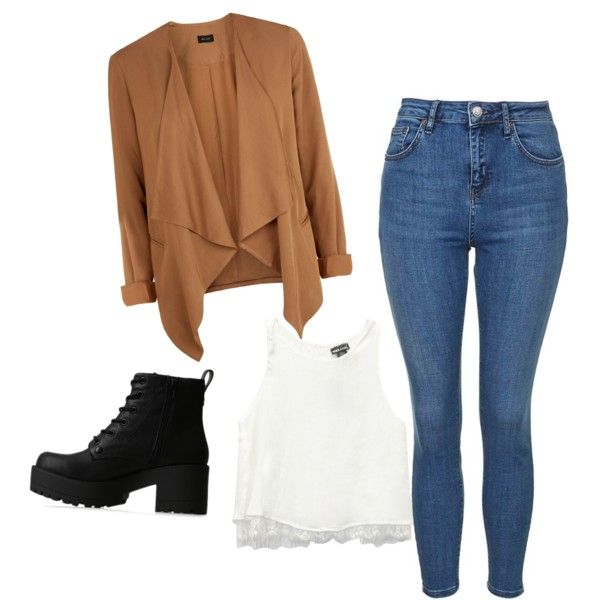 Untitled #74 by feffymoya-1 on Polyvore featuring polyvore fashion style Wet Seal Topshop Lipstik