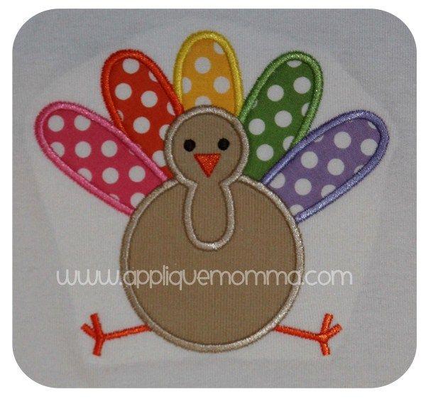 Turkey3 Applique Design