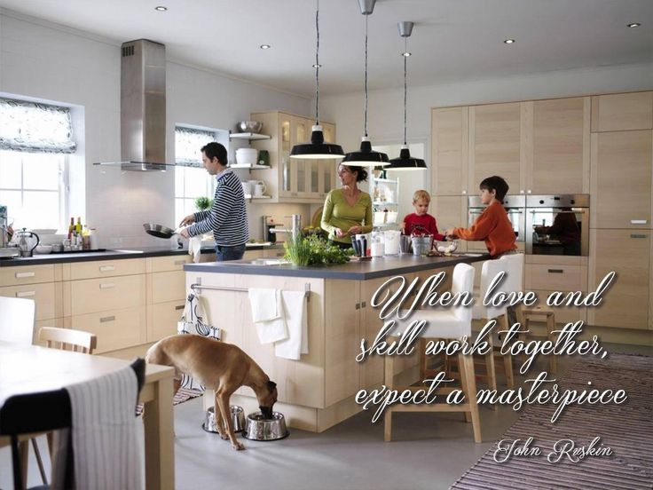When love and skill work together, expect a masterpiece #SundayMotivational #WillowsKitchens