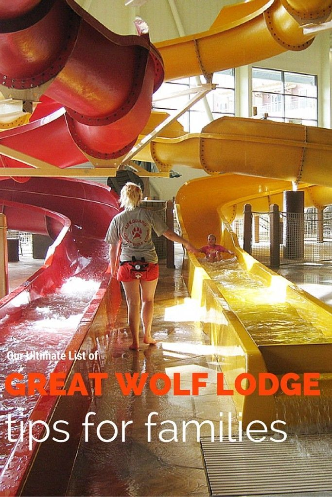 Looking for Tips for your next great wolf lodge trip! Check out these vacation tips for Great Wolf Lodge!