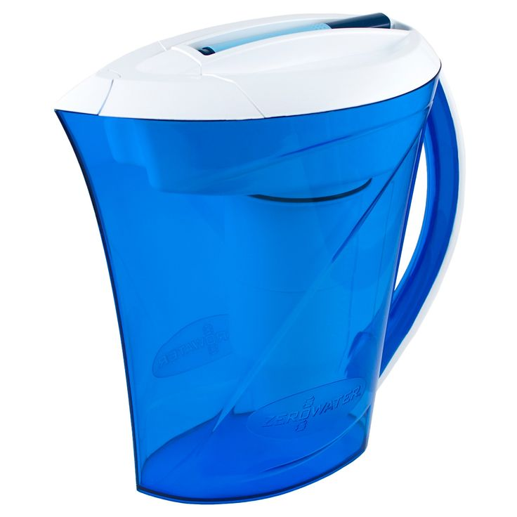 ZeroWater 10 Cup Ready Pour Pitcher with Free Tds Light-Up Indicator (Total Dissolved Solids)