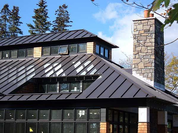 Dark Bronze Standing Seam Metal Roof South Park