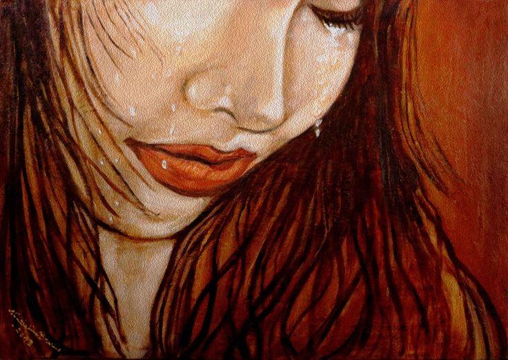 Il dolore incompreso delle donne 70x50cm