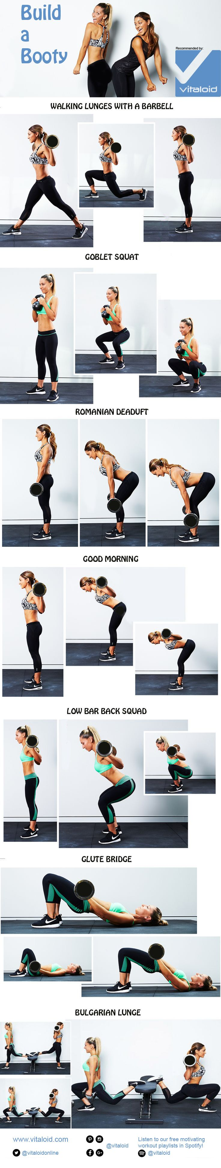 Know The Best Moves & Techniques For Building The Perfect Booty..!!
